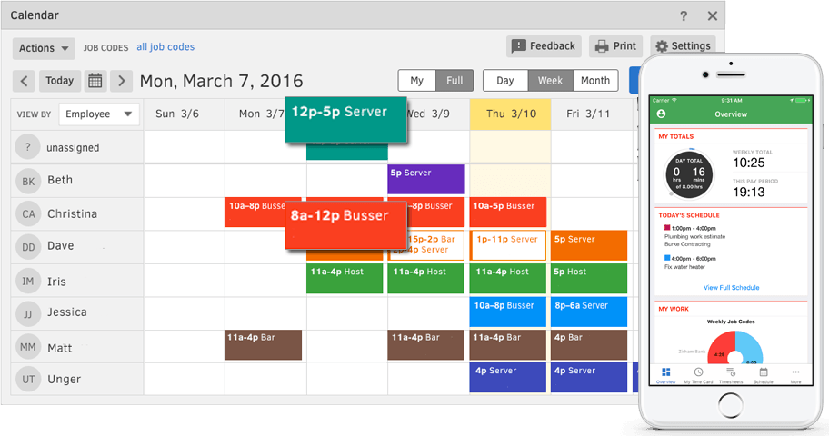 Tsheets Time Tracking Best Employee Time Tracker Software