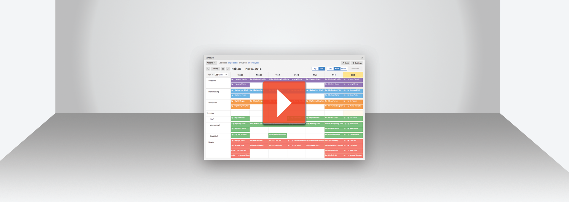 Create and assign jobs to employees instantly with TSheets job scheduling software.