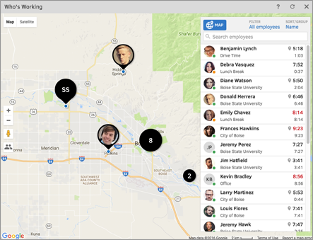 GPS employee tracking for your whole workforce