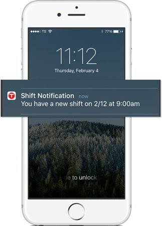 Schedule on the go with TSheets employee work schedule app.