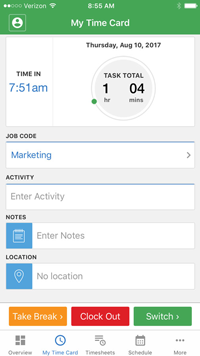 with tsheets mobile time card apps for iphone and android you and your employees can track daily and monthly hours easily with devices they already own - Time Card App For Android