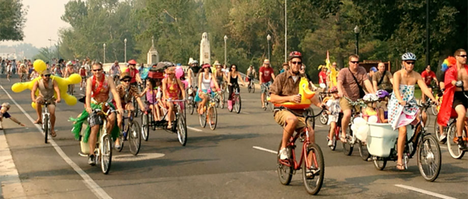 Boise loves cyclists and annual events like the Tour de Fat.