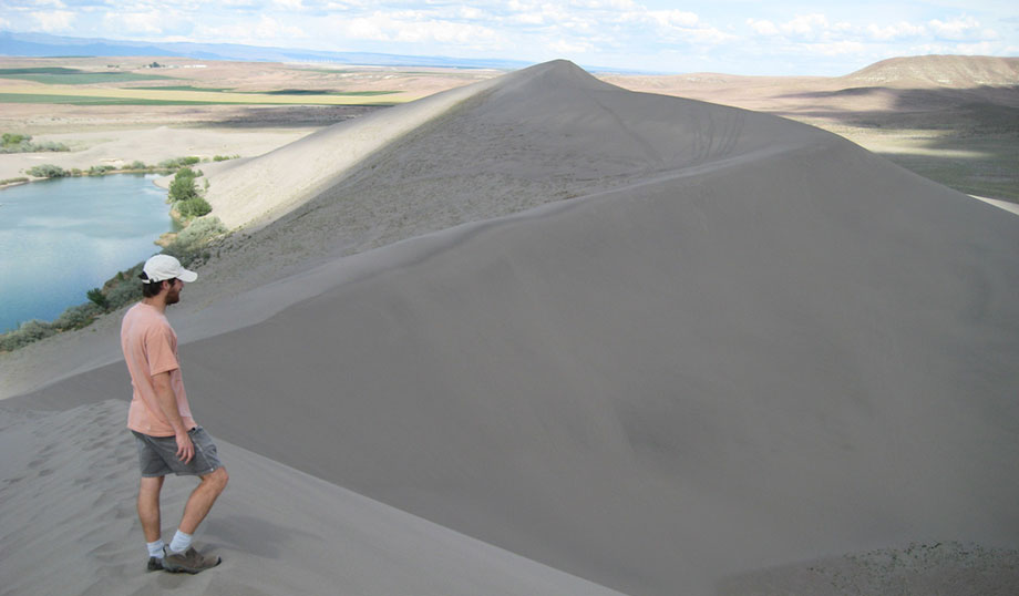 Bruneau Sand Dunes has the tallest and largest sand dunes in North America.
