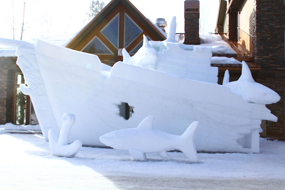Bring a warm coat and head to McCall, Idaho's winter festival with ice sculptures, snowbike races, and parades.