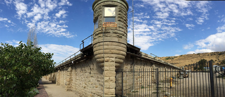 The Penitentiary was built in 1870 and operated for just over 100 years.
