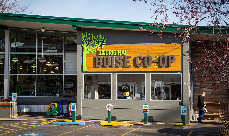 The Boise Co-Op offered health food starting way back in 1973. They still are a favorite for healthy produce, organic food, and everything else for granola types.
