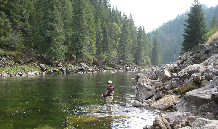Forbes has ranked Idaho as one of the top 10 fly-fishing states in the U.S.