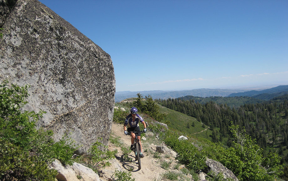 Mountain biking in Boise can range from hard-packed sand and gravel trails in sagebrush terrain to pine forest single track.