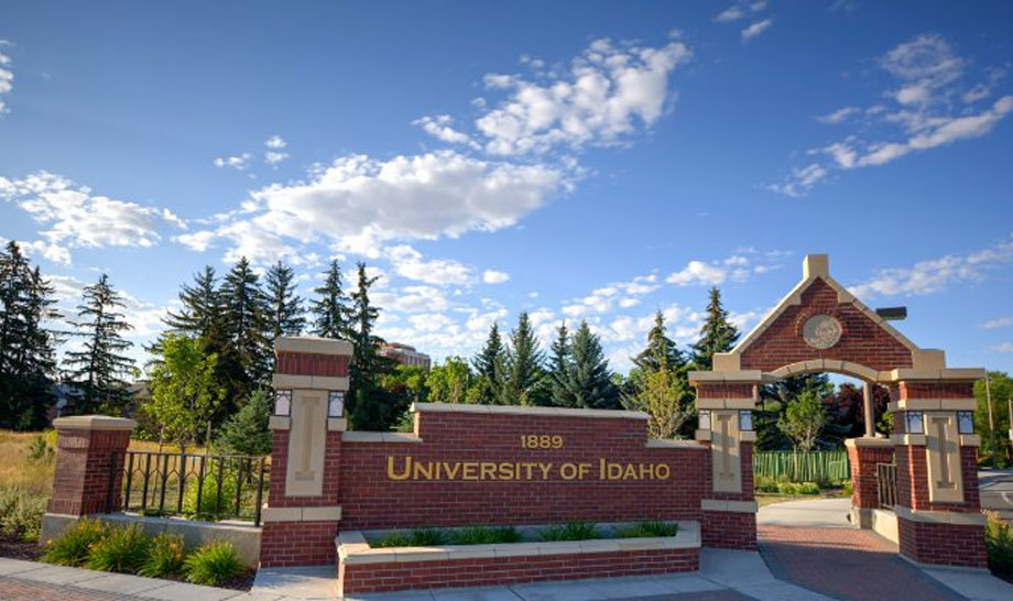 University of Idaho was founded in 1889 in Moscow, Idaho and it's rural setting makes for a beautiful 1,450-acre campus.