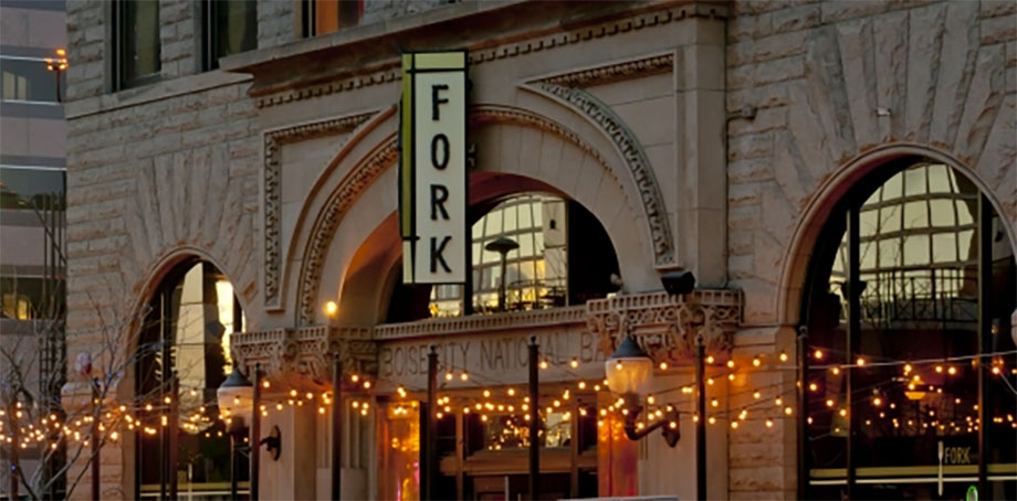 A newer addition to Boise, Fork specializes in a farm to table, locavore menu housed in an old bank building.