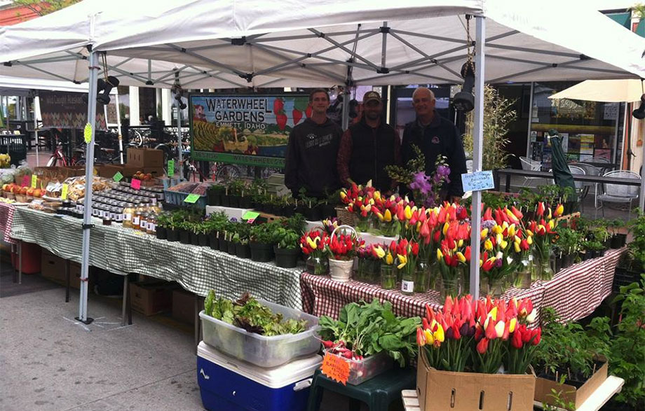Boise has a strong farmers market scene along with many fruit and vegetable stands.