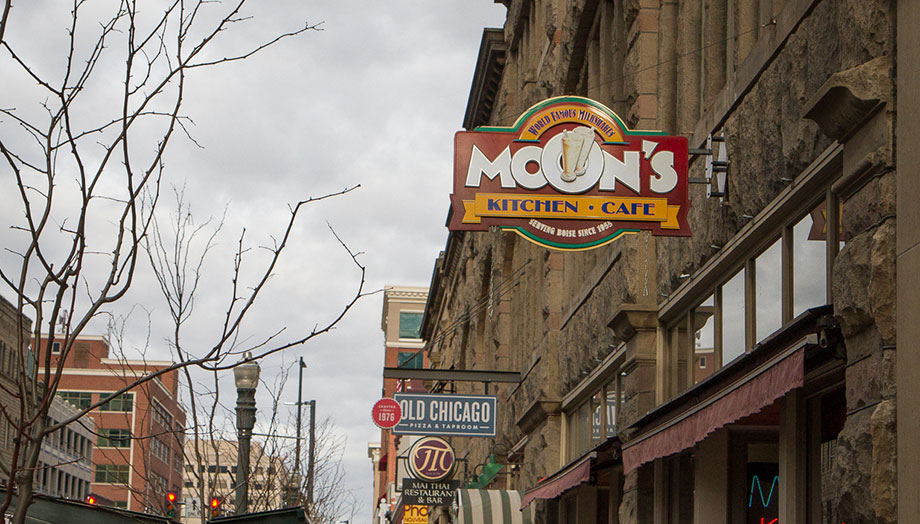 Moons is one of the oldest restaurants in Boise where politicians, government employees, and average citizens sit down for a delicious breakfast or milkshake.