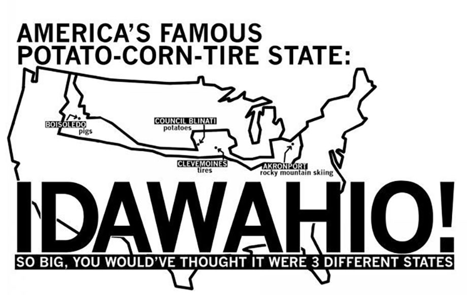 Do people confuse Idaho with Iowa? Yep. Here's our take on how the rest of the U.S. sees Idaho.