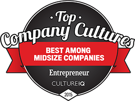 TSheets selected in Entrepreneur Magazine Top Company Cultures list