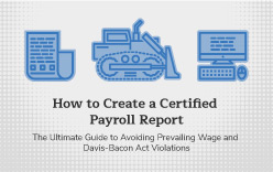 Learn how to create a certified payroll report.
