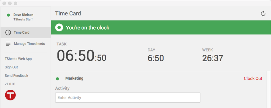 The TSheets time tracking Google Chrome app is built for Google Chrome lovers with busy days.