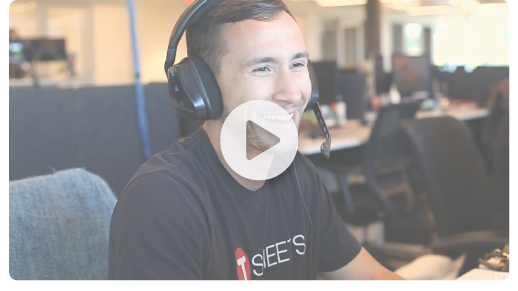 Get a feel for our customer support team - video.