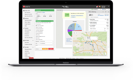TSheets can help keep you FLSA compliant with secure audit logs and simple employee time tracking.