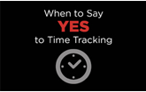 When to say yes to time tracking