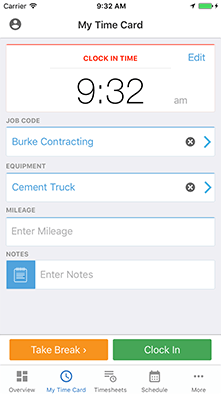 best time tracking timesheet app for iphone tsheets
