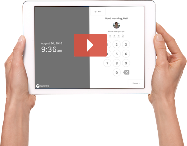 Simplify payroll & save thousands with the #1-Rated employee time clock app for iPad