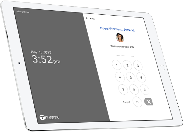 Time Clock Kiosk—Employee Time Clock Software From TSheets ...