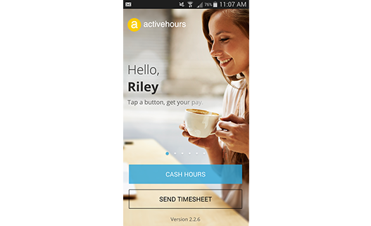 Activehours makes direct deposits easy