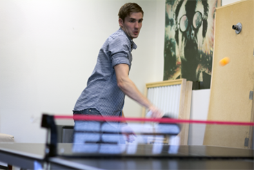 Philip tried desperately to make a ping pong comeback but was unsuccessful.