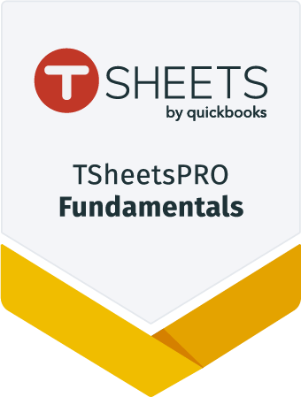 TSheets Fundamental Certification