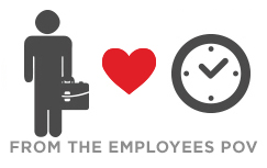 Employee time tracking freedom