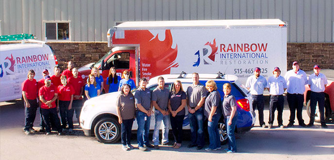 Rainbow International Restoration battles water damage, fire damage, mold, & carpet spills.