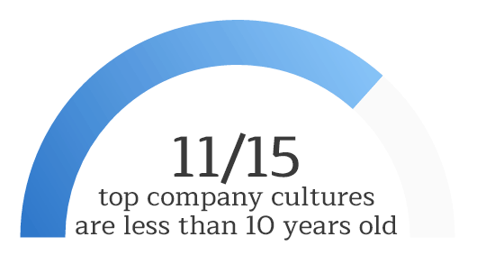 Can looking at company age help us have a better understanding of company culture?