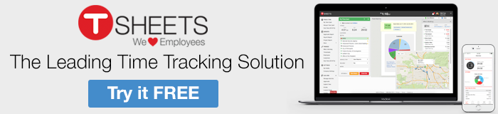 Try the leading time tracking solution for free - TSheets.