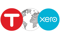 TSheets partners with Xero accounting software for simplified payroll and invoicing.