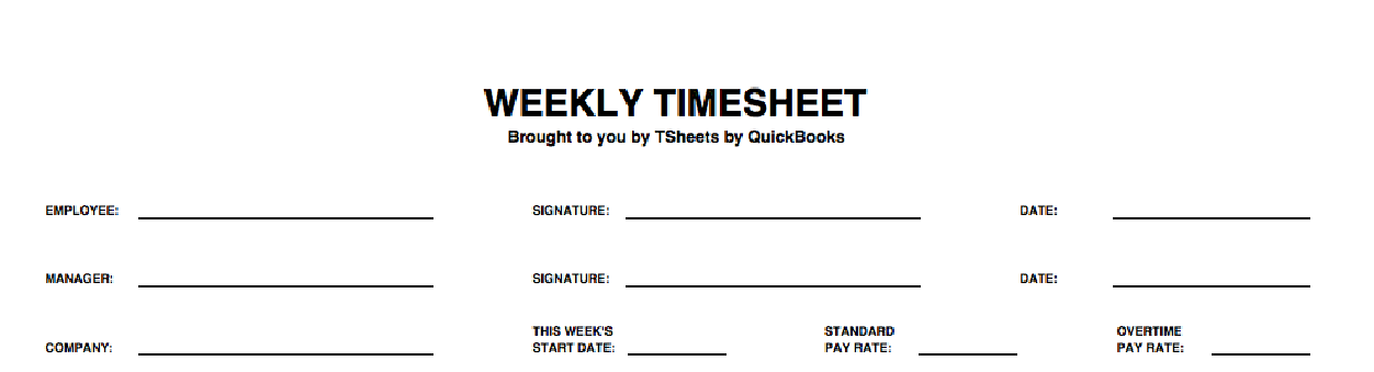 free weekly timesheet template printable excel timesheet for 2018