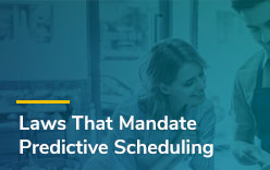 Predictive Scheduling Laws in 2017