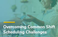 Employee shift scheduling problems and solutions