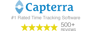 TSheets time clock software is the #1 rated on business app review site Capterra.