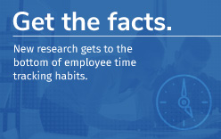 New research gets to the bottom of employee time tracking habits.