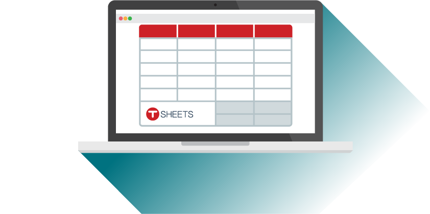 TSheets offers free templates for Microsoft Excel, Word, Google Sheets, and PDF.