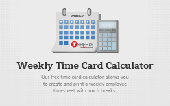 Time Card Calculator - Free Timesheet Calculator With Lunch Breaks