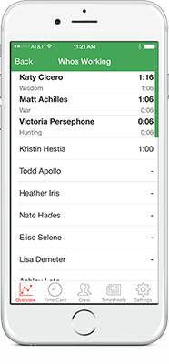 Add customers, jobs on the go and see who's working, all from your iPhone